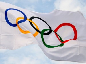 Олимпийский флаг украл бронзовый призер