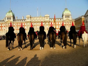 Horse Guards Parade, Hyde-Park и Regent's Park - арены олимпийских соревноаний