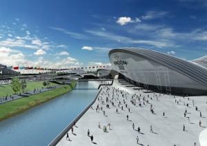 Эмблема Олимпиады и олимпийские виды спорта, а также путь к победе Лондона