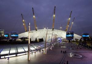 North Greenwich Arena, Hyde-Park и Eton Dorney- исторические места Лондона, принимающие олимпиаду