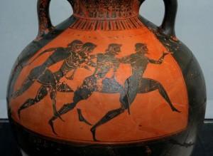 Легкая атлетика в древности и кино в современности