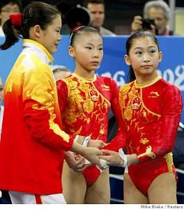 Китайские спортсмены не могут есть мясо до Олимпиады