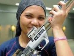 В Лондоне Нур Таиби, спортсменка из Малайзии будет соревноваться в пулевой стрельбе