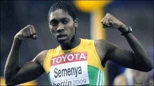 Кастер Семеня, спортсменка-бегунья, возможно гермафродит