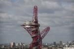 Возле олимпийского стадиона с в Лондоне построена металлическая скульптура ArcelorMittal Orbit