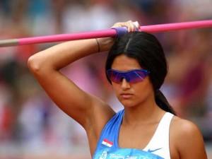 Лерин Франко- Самые сексуальные спортсменки этого лета в Лондоне