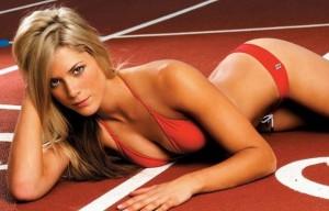 Самые сексуальные спортсменки  в Лондоне- Мелани Адамс