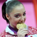 Алия Мустафина стала главным героем России Олимпийских игр 2012