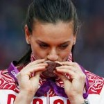 Елена Исинбаева не слишком удачно выступила на Олимпийских играх 2012