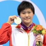 Е Шивэнь - юная китайская пловчина - звезда мировых бассейнов
