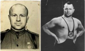 Знаменитые советские борцы послевоенного времени: Александр Мазур