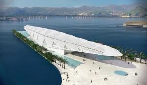 потрясающий музей будущего от Сантьяго Калатравы