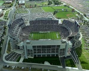 Бивер Стэдиум - самые большие стадионы мира номер три