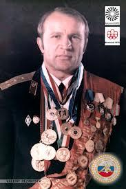 Анатолий Парфенов и другие советские борцы- ветераны ВОВ