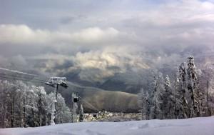 Непредсказуемая погода в Сочи на олимпиаде