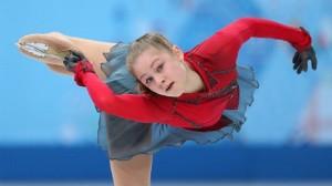 Юная звезда фигурного катания России -Юлия Липницкая