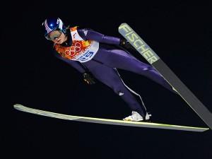 волшебные моменты соревнований в Сочи - прыжки с трамплина