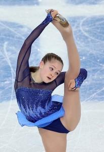 Юлия Липницкая - самая молодая олимпийская чемпионка России в Сочи