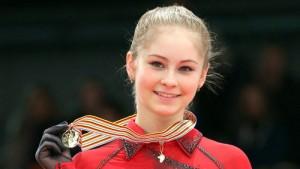 Юлия Липницкая- маленькая звездочка российского фигурного катания