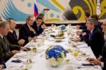 Президент МОК на торжественном завтраке