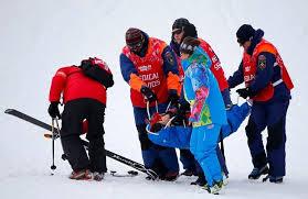 Травмы на Олимпиаде в Сочи- канадская фристайлистка не смогла закончить соревнования