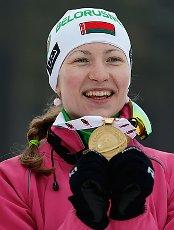 Дарья Домрачева- трехратная  олимпийская чемпионка Сочи